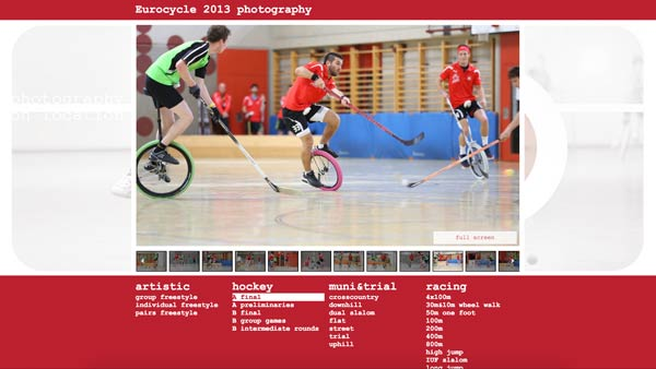 eurocycle 2013 photography website